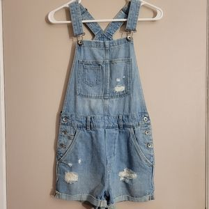 Light Blue Shorts Overalls from H&M